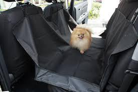 pet car suv van back rear bench seat cover waterproof hammock for
