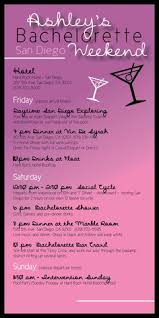 bachelorette party itinerary template google search i do