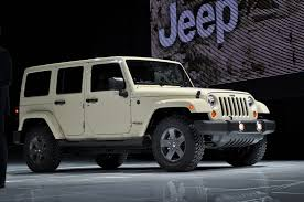jeep sahara 2016 white 2011 jeep wrangler mojave 2011 new york auto show live photos