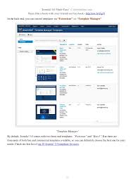 joomla 3 0 made easy free e book