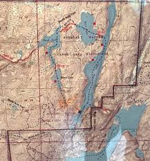 Boundary Waters Map Boundary Waters Canoe Area Wilderness Dirt Orcas