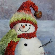 snowman art winter days pinterest snowman winter and winter art