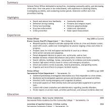 Military Police Job Description Resume by Police Officer Resume Creative Inspiration Law Enforcement Resume