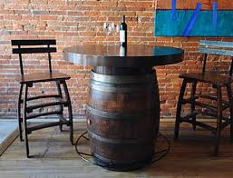 Barrel Bistro Table Top Bistro Table