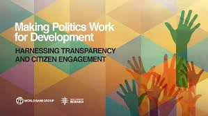 making politics work for development harnessing transparency and