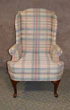 Queen Anne Wingback Chair Queen Anne Chairs Ebay