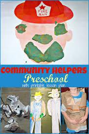community helper preschool week more excellent me