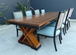 modern dining room tables solid wood busca modern furniture