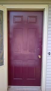 exterior beauty purple painted front door design ideas best