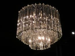 Vintage Glass Chandelier Chandelier Extraordinary Glass Chandelier Crystals Appealing