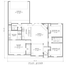 open layout floor plans single open floor plans modern house plans single floor