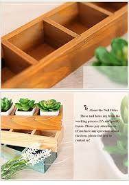 yumu rectangle wooden succulent plant fleshy flower bed pot box
