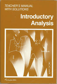 introductory analysis teacher u0027s manual with solutions graham