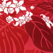 Polyester Flowers - shirahama mariner rakuten global market hawaiian fabric red 3