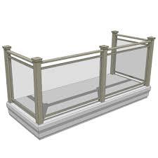 balcony set 2 3d model formfonts 3d models u0026 textures