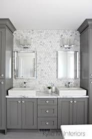 backsplash ideas for bathroom a marble inspired ensuite bathroom budget friendly