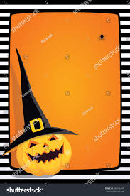 orange black halloween background vector halloween orange background black white stock vector