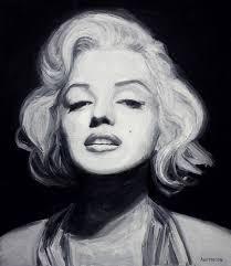 Marilyn Monroe Art Saatchi Art Marilyn Monroe Painting By Maxim Alemasov