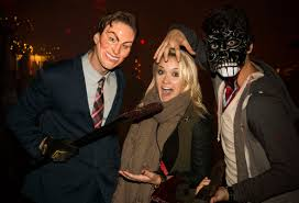 universal studios halloween horror nights 2015 celebrities visit halloween horror nights the dishmasterthe