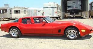 4 door corvette 1980 chevrolet corvette four door cars today