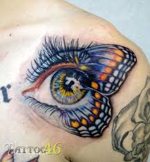 41 best butterfly eye images on eye tattoos