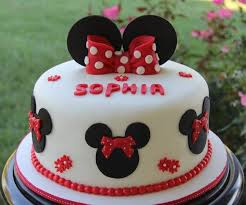 minnie mouse birthday cakes litoff