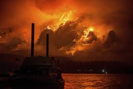 Map Of Oregon Fires by Photo Of The Week A Hellish Vision Of Portland Oregon U0027s Famous
