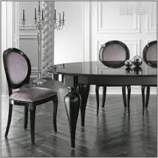 Black Lacquer Dining Room Furniture Italian Style Dining Set Chairs Home Decorating Ideas Hash