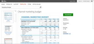 get organized with budget templates for microsoft office