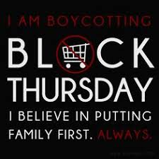 i pledge not to shop on thanksgiving beautiful thoughts and