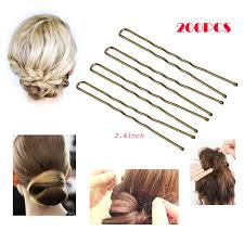 wide bobby pins diane hair pins assorted size black 100 card