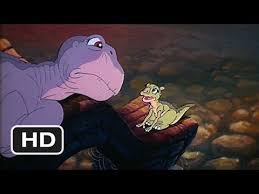 land 4 10 movie clip littlefoot meets ducky