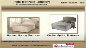 Mattress For Folding Bed Mattresses And Folding Bed By India Mattress Company Noida Youtube