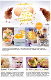 cuisine az com plat galerie de newsletters de la marque the mailing book