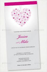 wedding menu templates 30 wedding menu templates free word pdf psd card designs