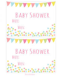 free printable baby shower invitations free printable baby shower