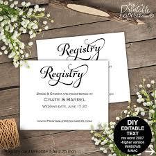 diy wedding registry bridal registry registry card wedding registry wedding