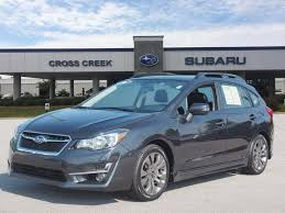2016 subaru impreza hatchback silver featured used vehicles and certified subaru specials at cross