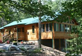 prefab log home kits riverview log home kit conestoga log cabins