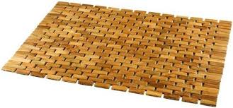 Teak Bath Mat Roll Up Teak Bath Mats Teak Bath Mat Central