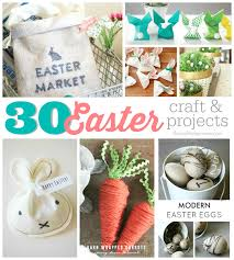 30 easter crafts u0026 projects the crafted sparrow