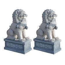 shop design toscano foo dogs of the forbidden city 30 in