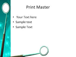 dental powerpoint ppt templates