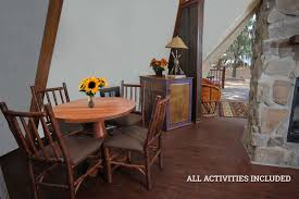 Teepee Dining Table Luxe Teepee Westgate River Ranch Resort Rodeo In River Ranch