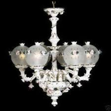 capodimonte roses capodimonte chandelier foter