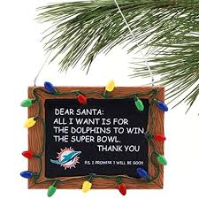 miami dolphins ornament dolphins ornament