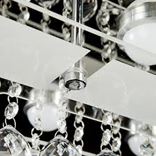 plafonnier pour chambre à coucher oofay light lustre moderne en cristal simple et élégante