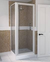 800mm Pivot Shower Door Aqua 4 Pivot Shower Door 760mm White 1174005