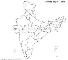 india map political black