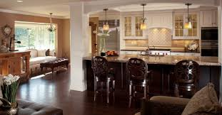 dining applying some interior design for open kitchen with